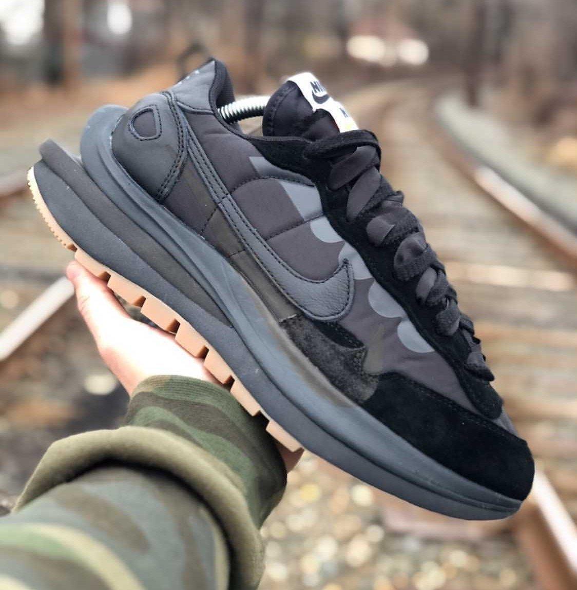 Sacai Nike VaporWaffle Off-Noir Black Gum Release Date Info
