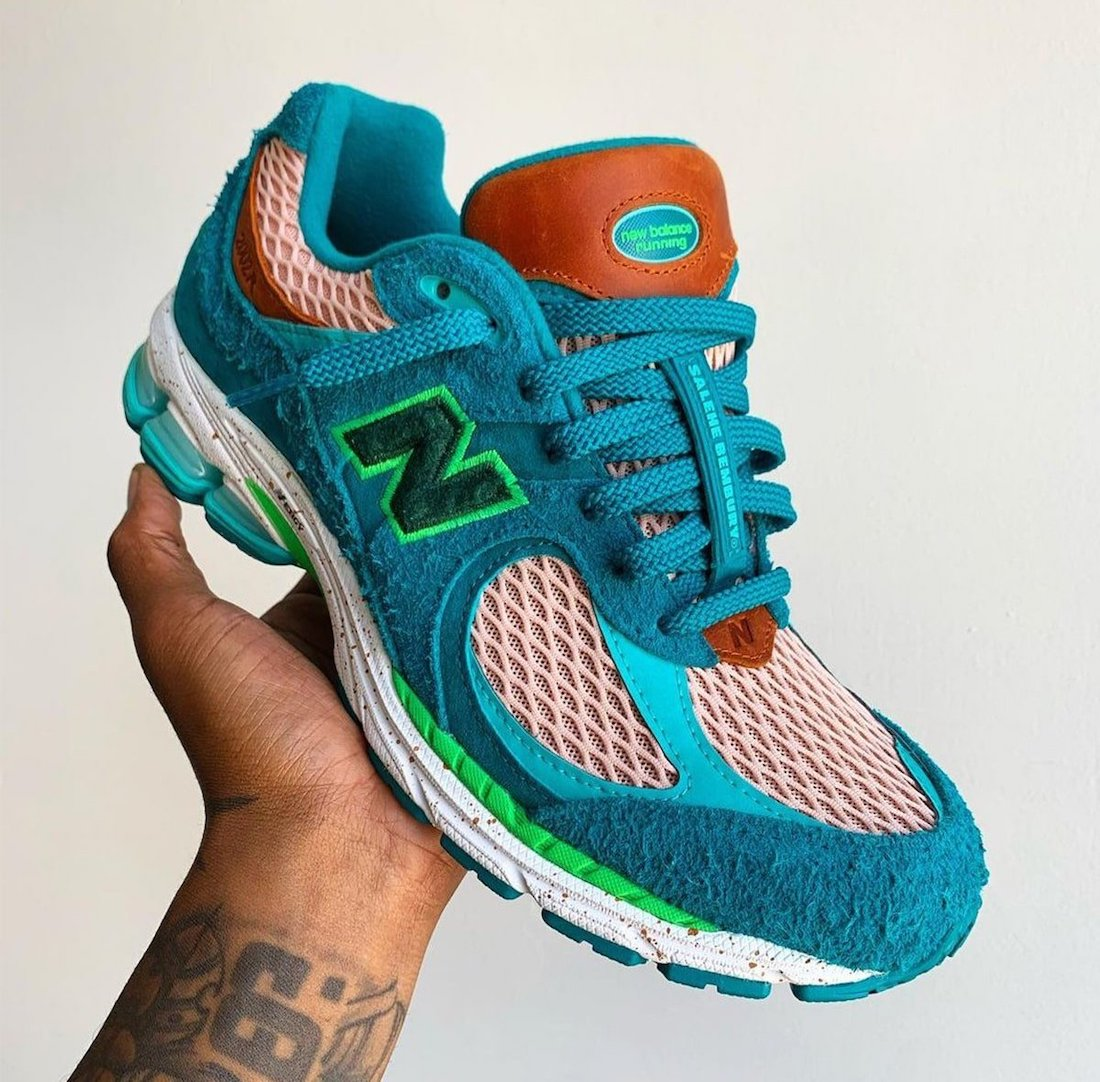 Salehe Bembury x New Balance 2002R Water Be The Guide Release Date