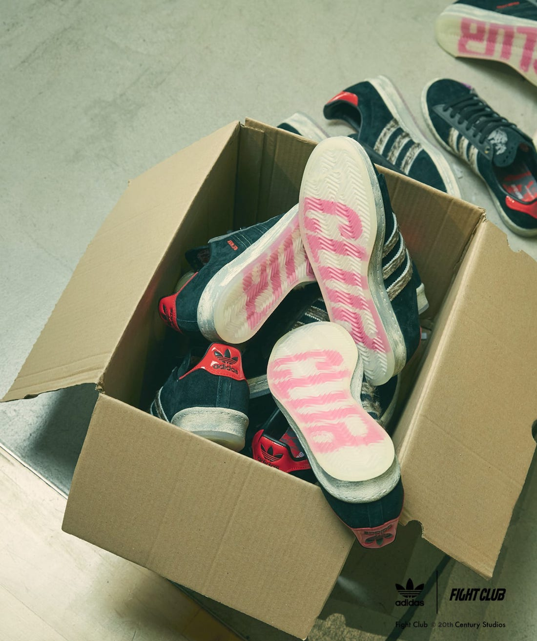 size? Fight Club adidas Campus 80s Release Date
