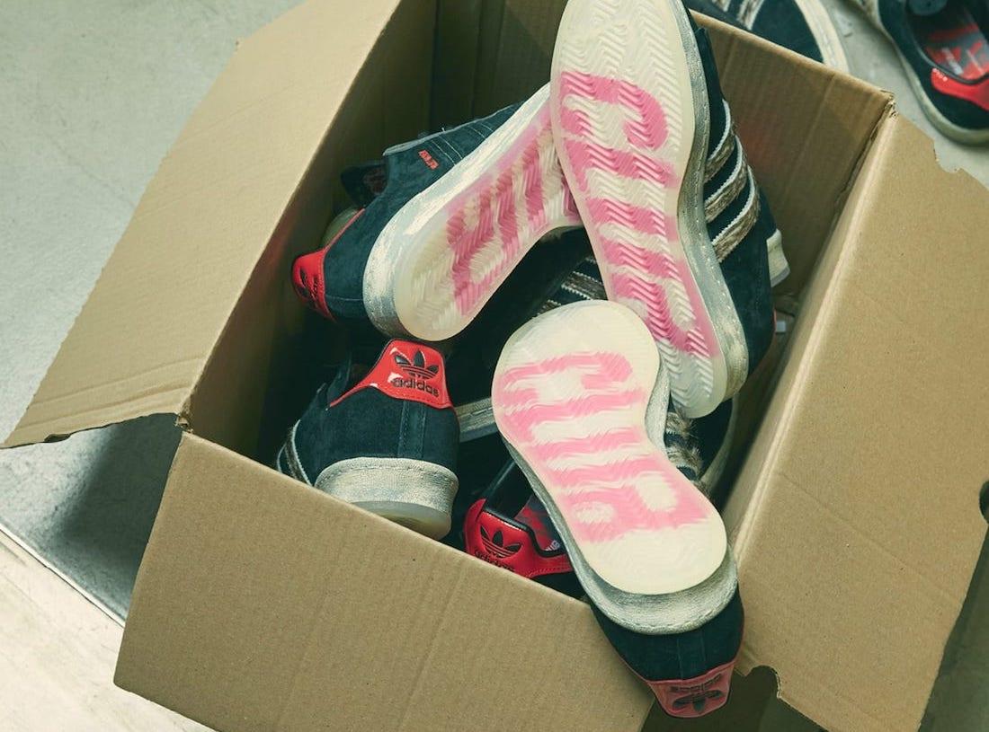 size? Fight Club adidas Campus 80s