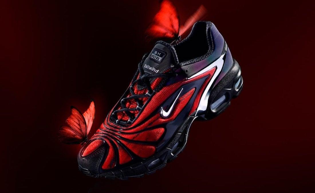 Skepta Nike Air Max Tailwind V 5 Bloody Chrome CU1706-001 Release Date