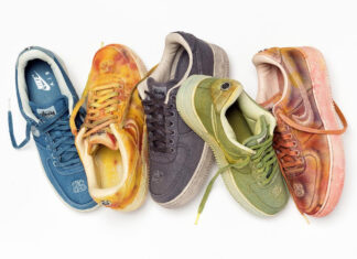 Stussy Nike Hand Dyed Air Force 1 Release Date Info