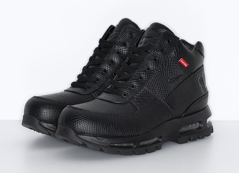 Supreme Nike Air Max Goadome Black Release Date