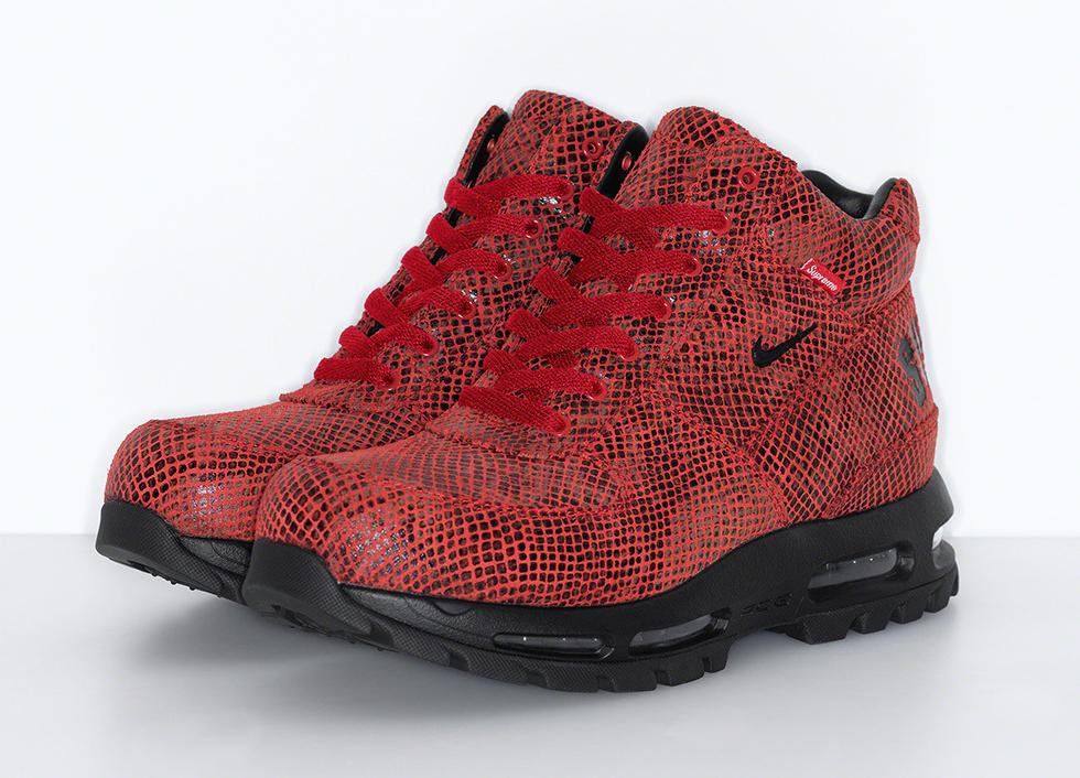 Supreme Nike Air Max Goadome Red Release Date