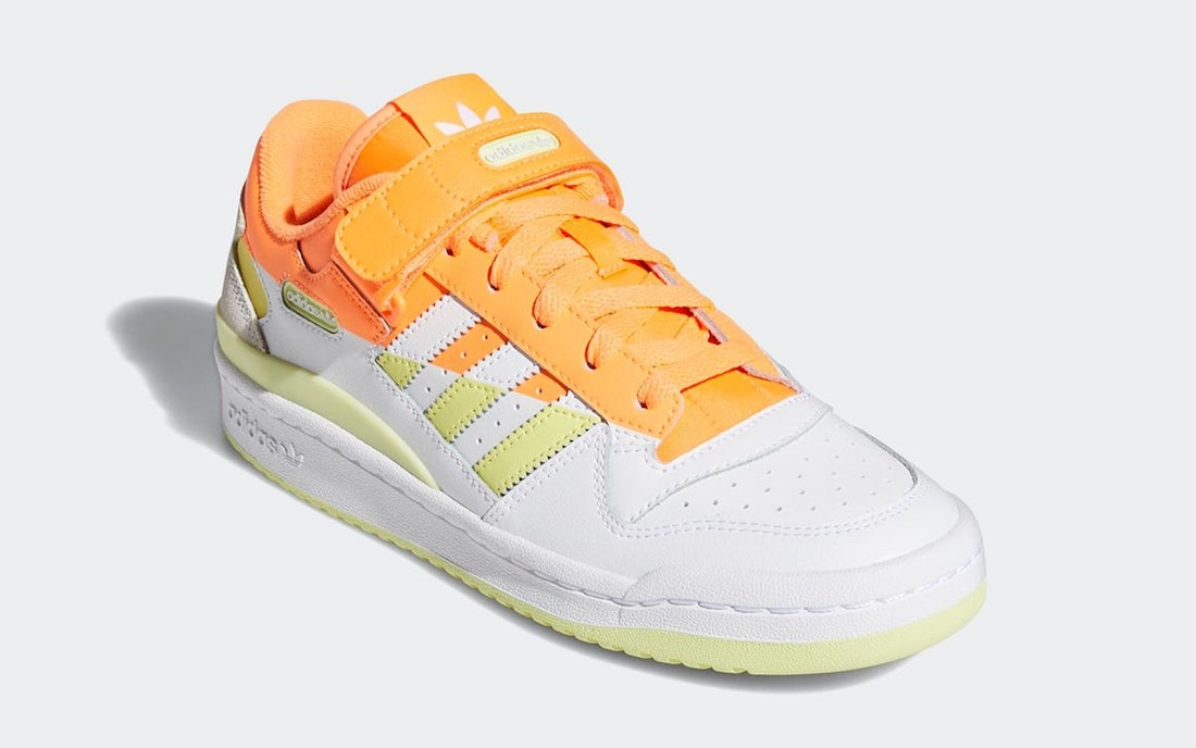 adidas Forum Low Premium Screaming Yellow Tint FY8020 Release Date
