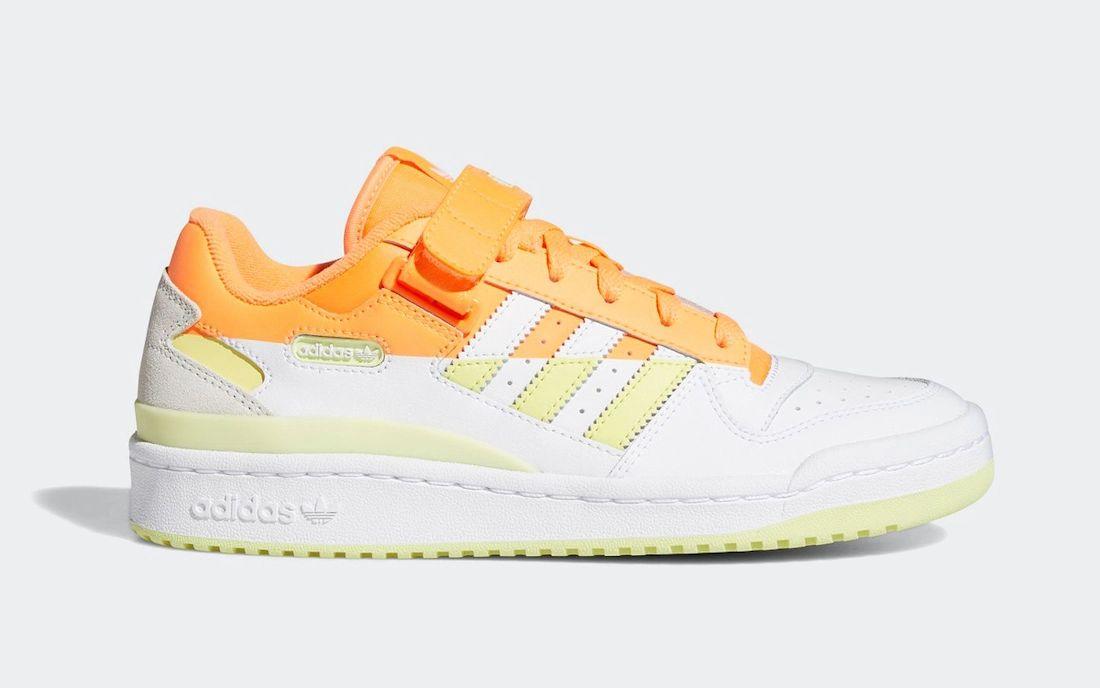 adidas Forum Low Premium Screaming Yellow Tint FY8020