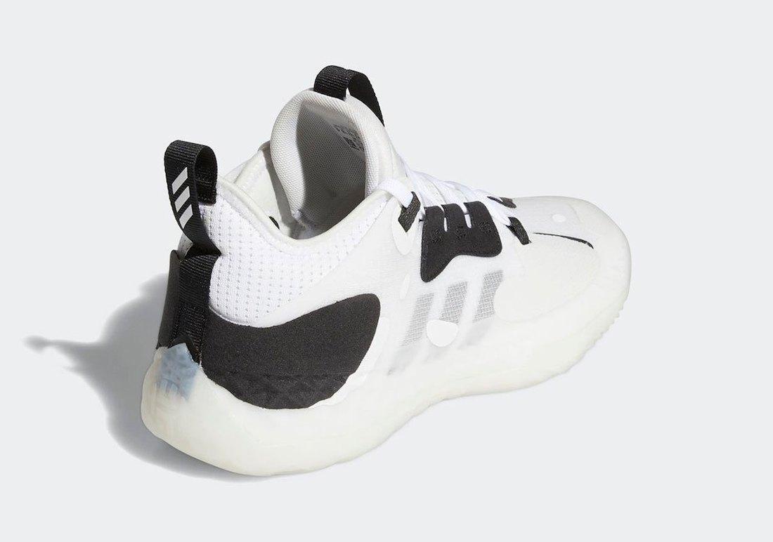 adidas Harden Vol 5 White Black Q46143 Release Date Info