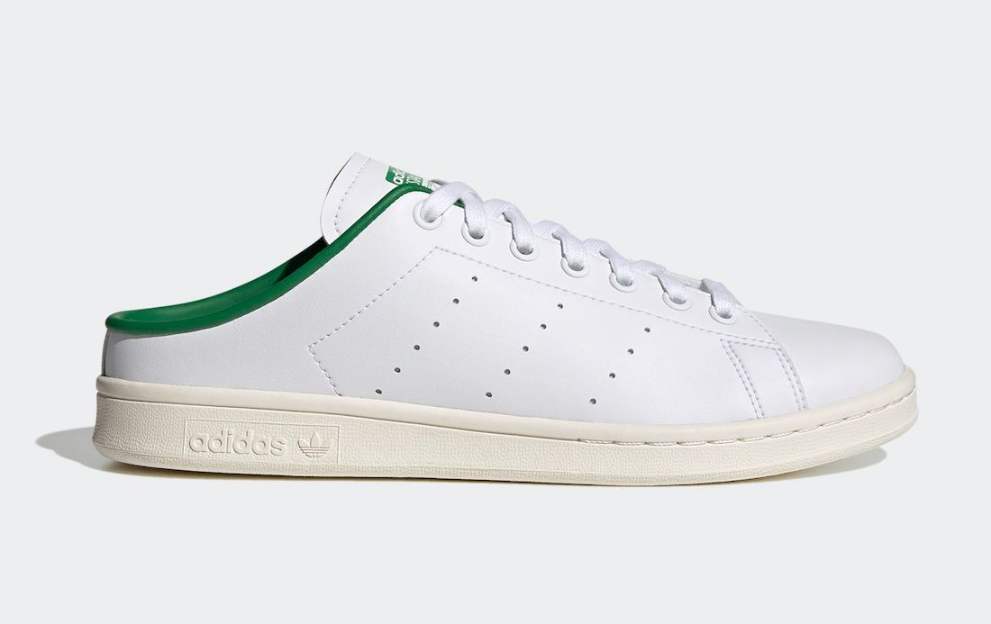 adidas Stan Smith Slip-On White Green FX5849 Release Date Info