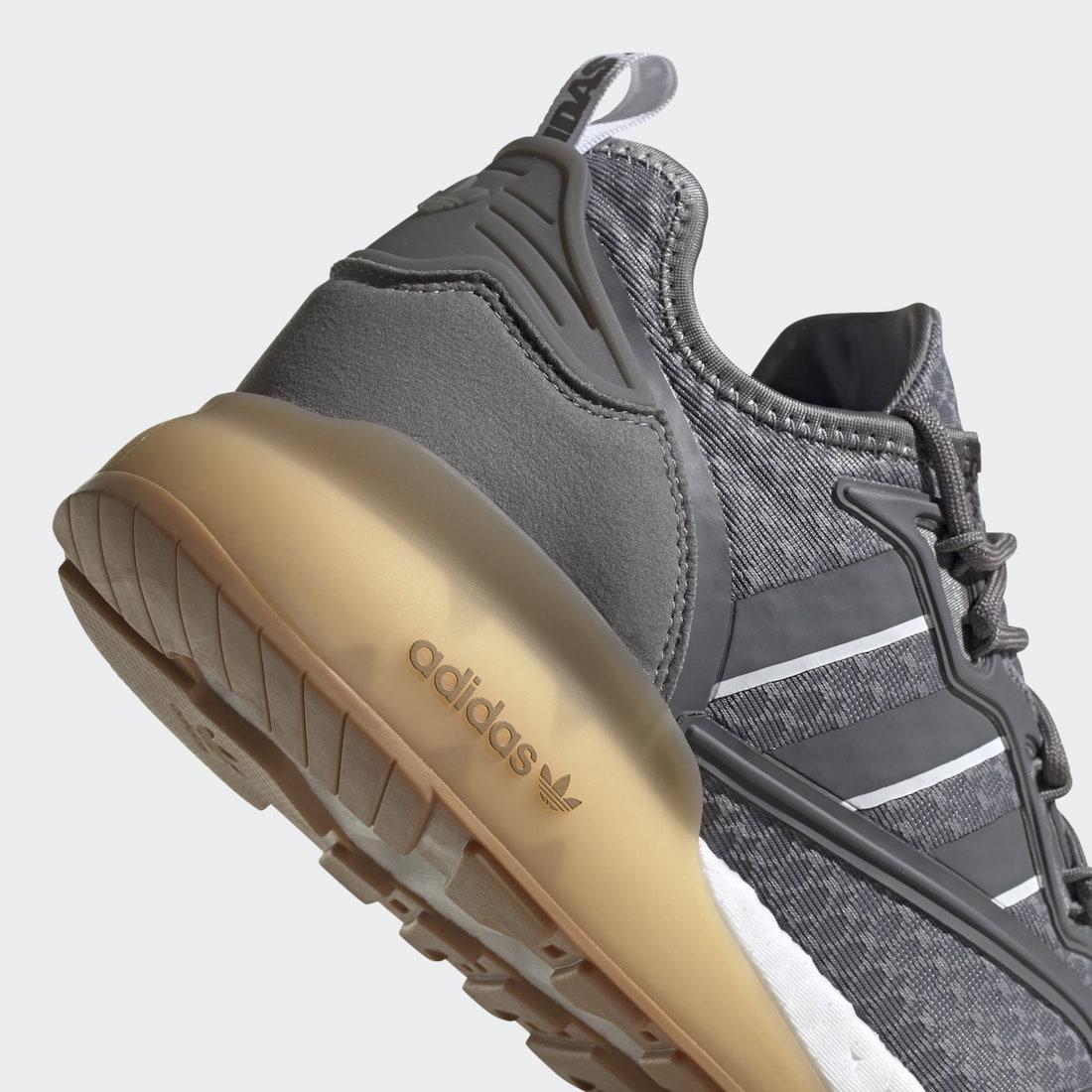 adidas ZX 2K Boost Grey Gum G58083 Release Date Info