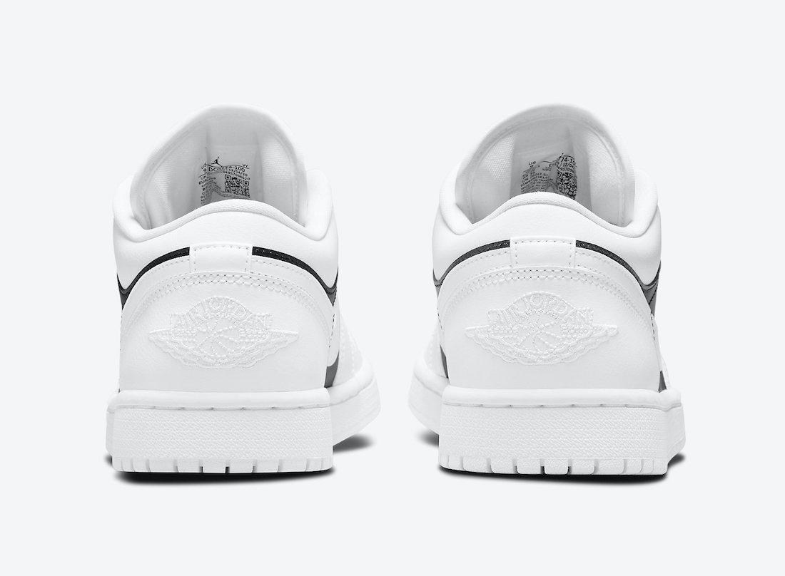 Air Jordan 1 Low Panda White Black DC0774-100 Release Date Info