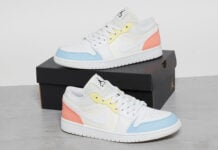 Air Jordan 1 Low Sail White Citron Summit White CU6909-100 Release Date Info