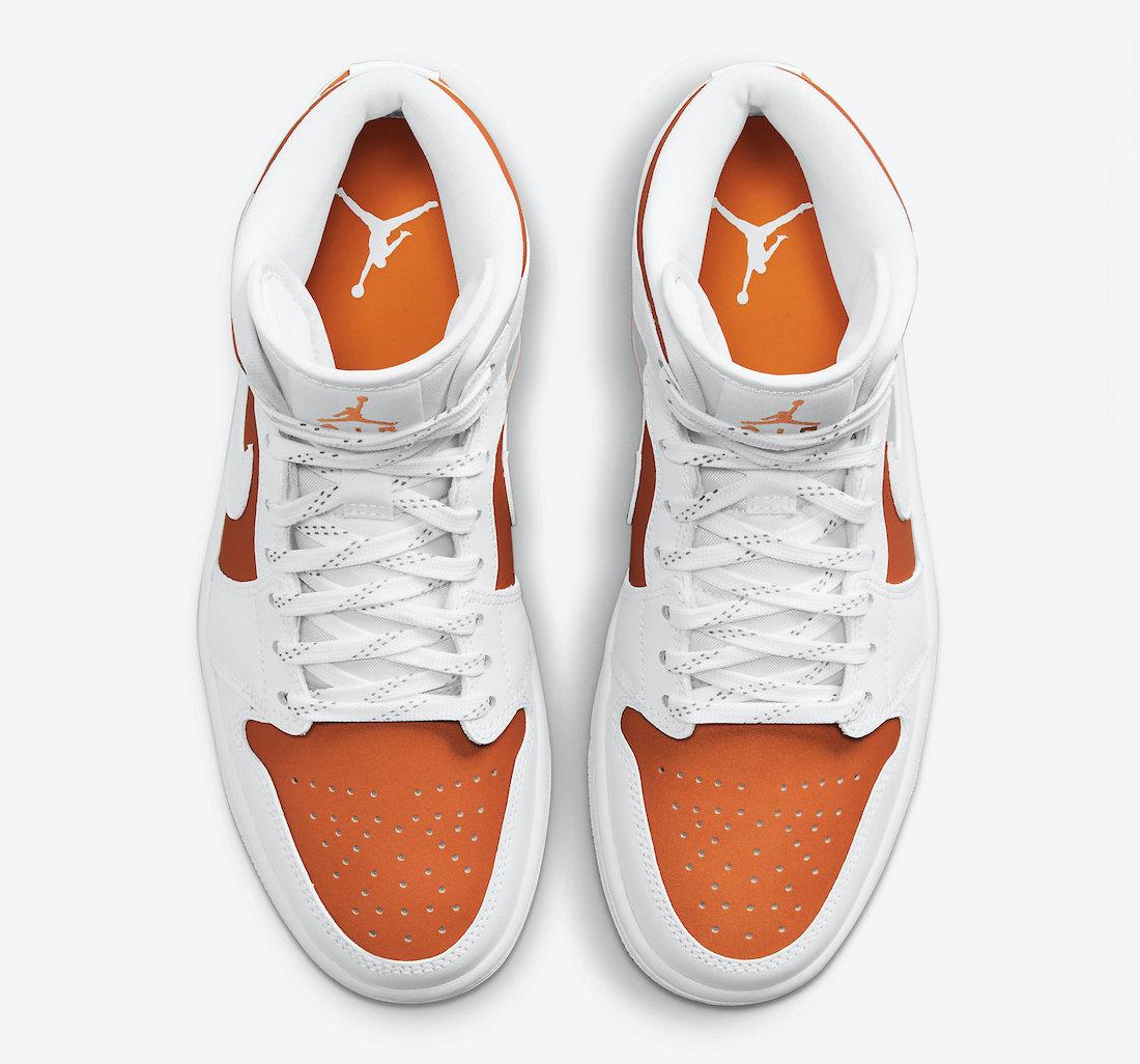 Air Jordan 1 Mid SE Bright Citrus CZ0774-800 Release Date Info