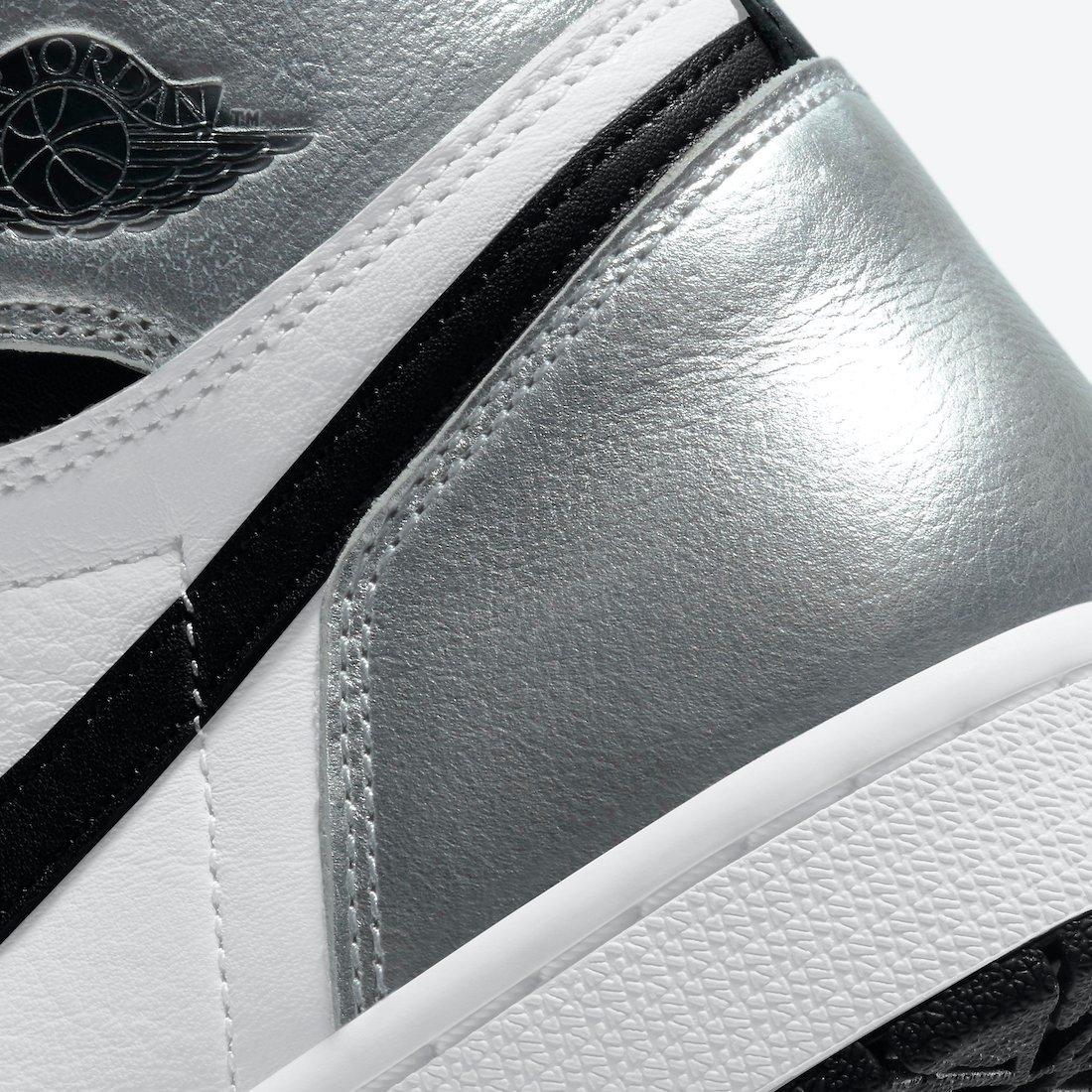 Air Jordan 1 Silver Toe CD0461-001 Release Info Price