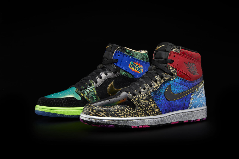 Air Jordan 1 High OG 'What The Doernbecher' Officially Unveiled