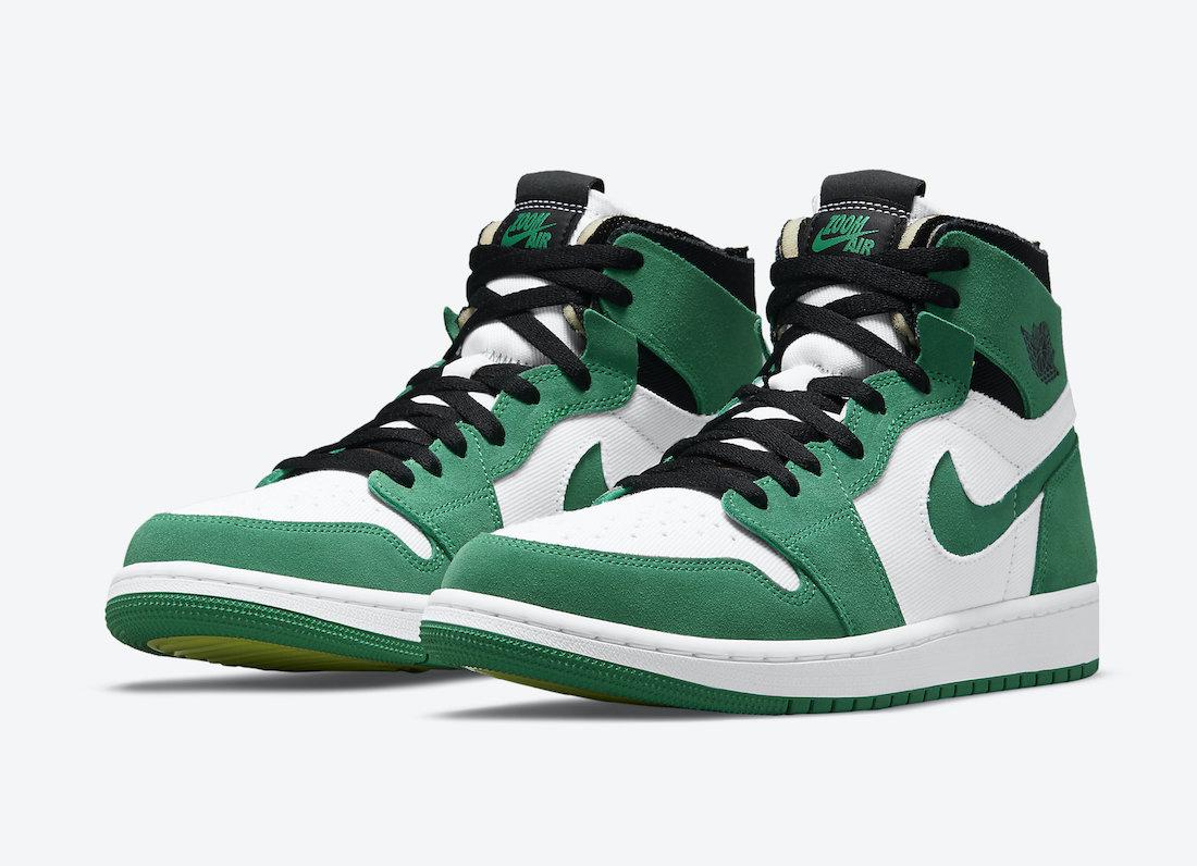 Air Jordan 1 Zoom CMFT Stadium Green CT0978-300 Release Price