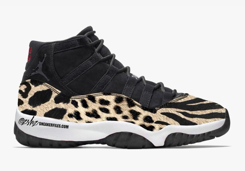 Air Jordan 11 Animal AR0715-010 Release Date