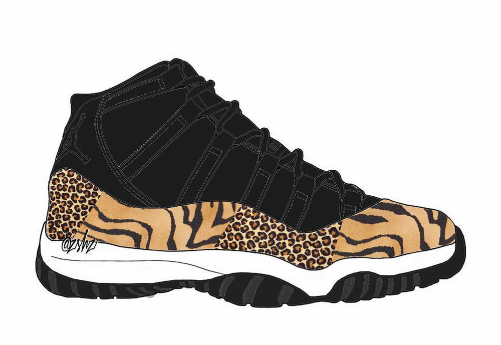Air Jordan 11 Animal Release Date Info