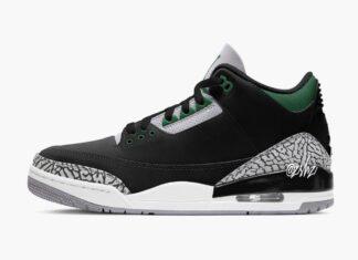 Air Jordan 3 Pine Green Release Date Info