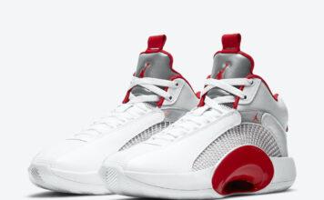 Air Jordan 35 Fire Red Alternate CQ4228-100 Release Date Info