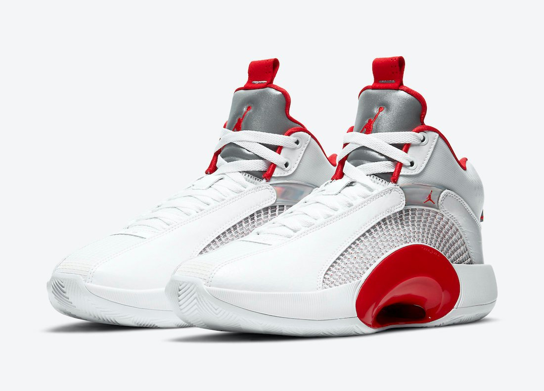 Air Jordan 35 'Fire Red' Alternate Releasing Without Icy Outsoles