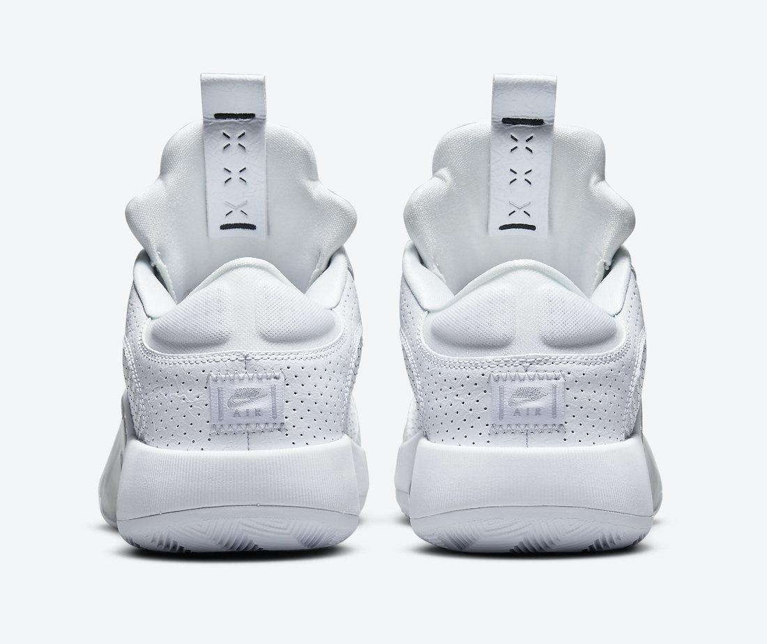 Air Jordan 35 Low White Metallic CW2459-100 Release Date Info