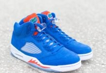 Air Jordan 5 Florida Gators PE Details