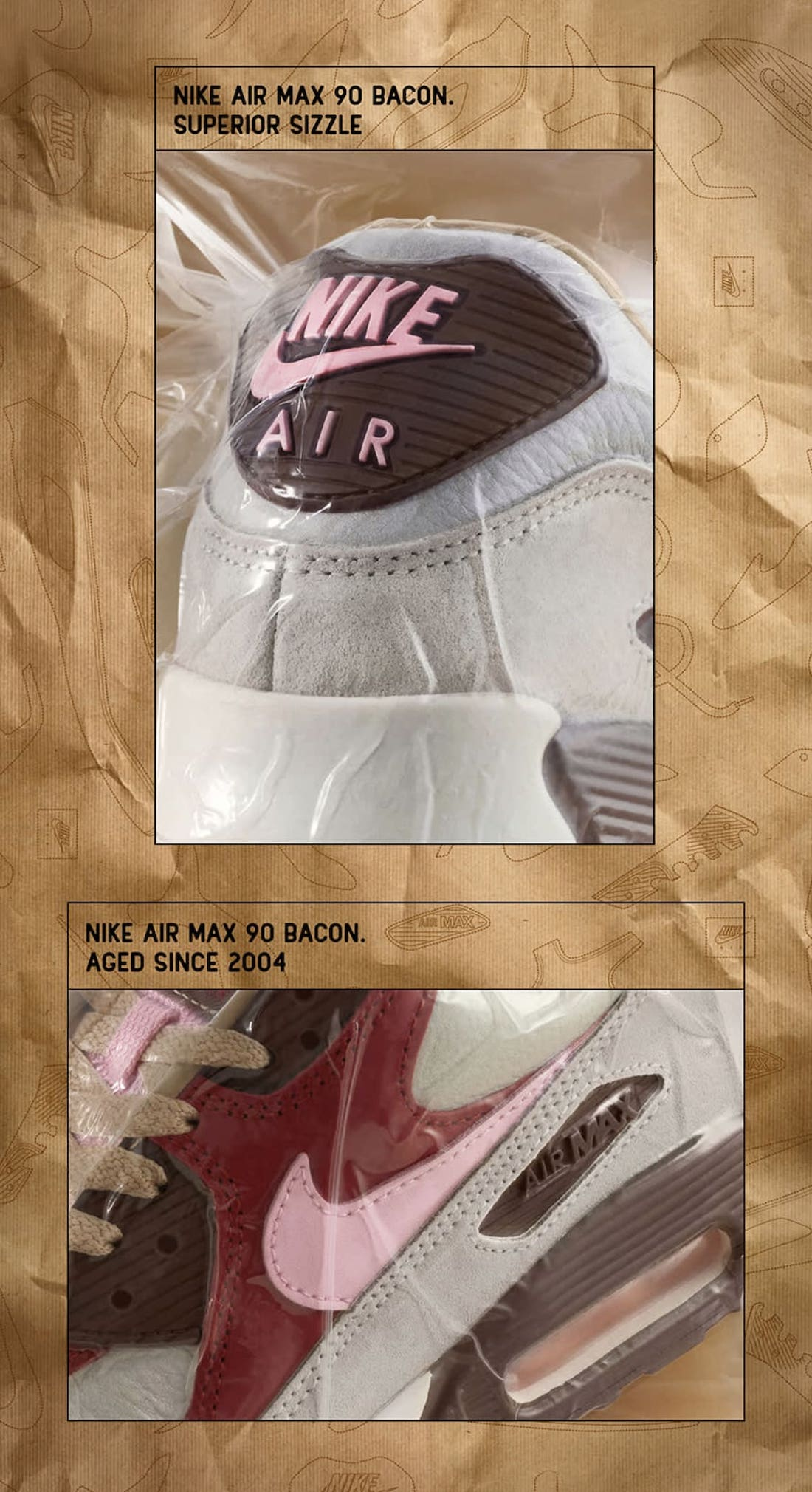 Bacon Nike Air Max 90 2021 CU1816-100 Release Info Price