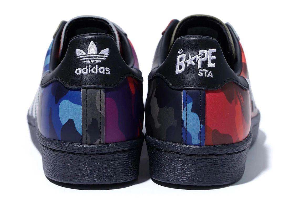 Bape adidas Superstar Camo Release Date Info