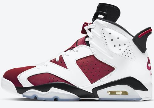 Carmine Air Jordan 6 Release Date