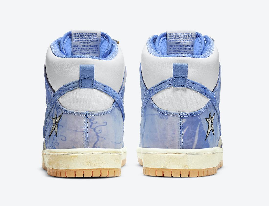 Carpet Company Nike SB Dunk High CV1677-100 Release Date