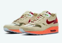 Clot Nike Air Max 1 Kiss of Death DD1870-100 2021 Release Date