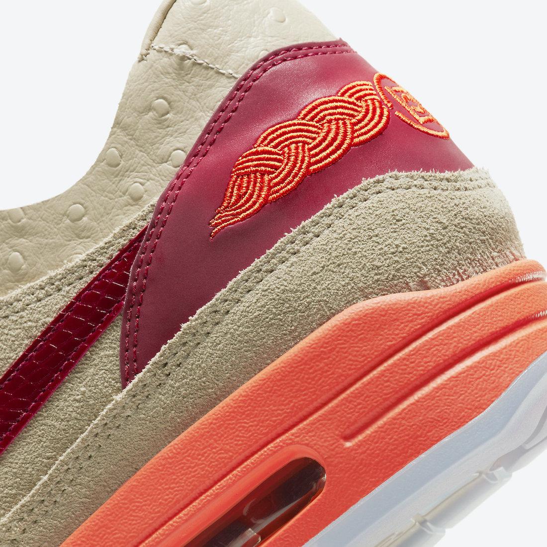 Clot Nike Air Max 1 Kiss of Death DD1870-100 2021 Release Date
