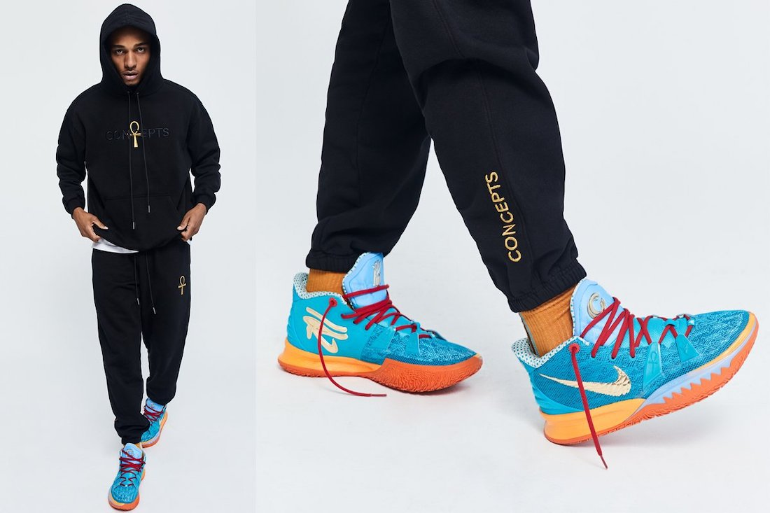 Concepts Nike Kyrie 7 Horus Release Date