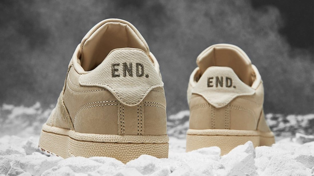 END Reebok Club C Chalk G58845 Release Date Info