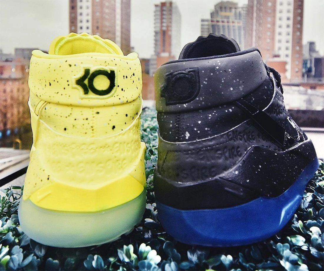Enspire Nike KD 13 Black Ice Venom Yellow Release Date Info