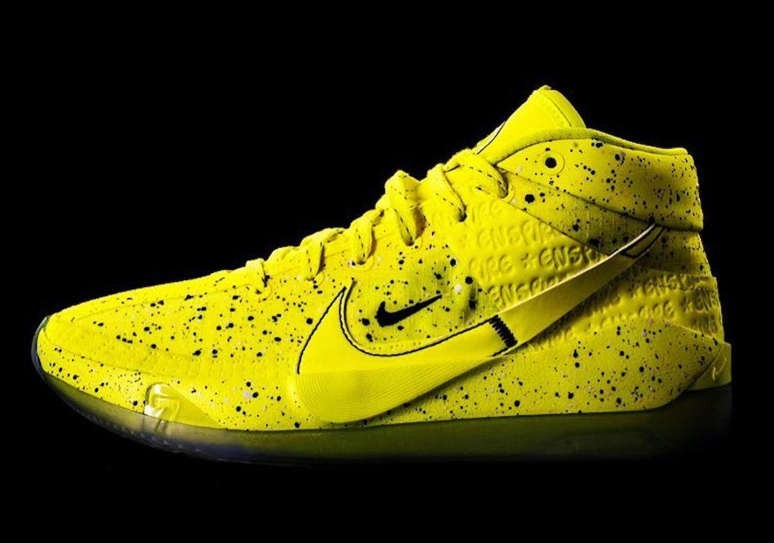 Enspire Nike KD 13 Venom Yellow Release Date Info