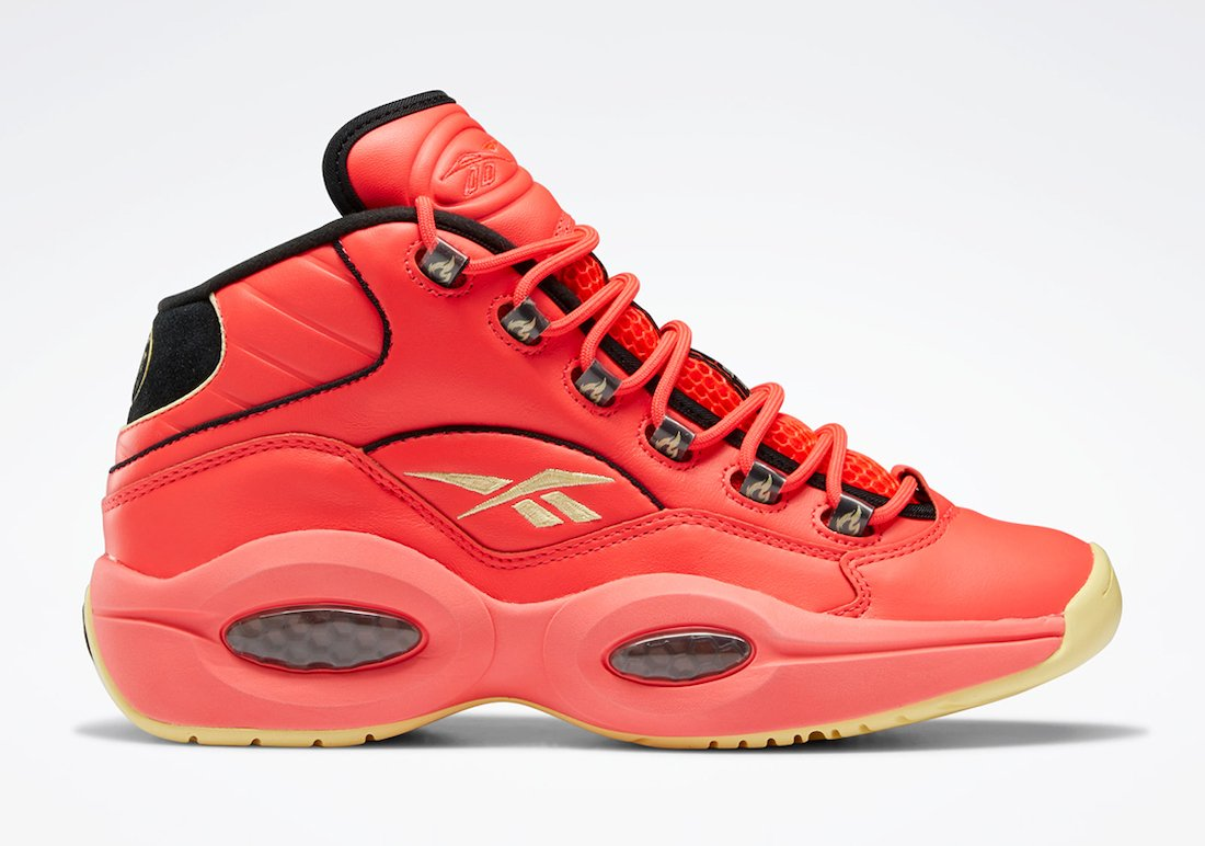Hot Ones Reebok Question Mid GV7093 Release Date Info