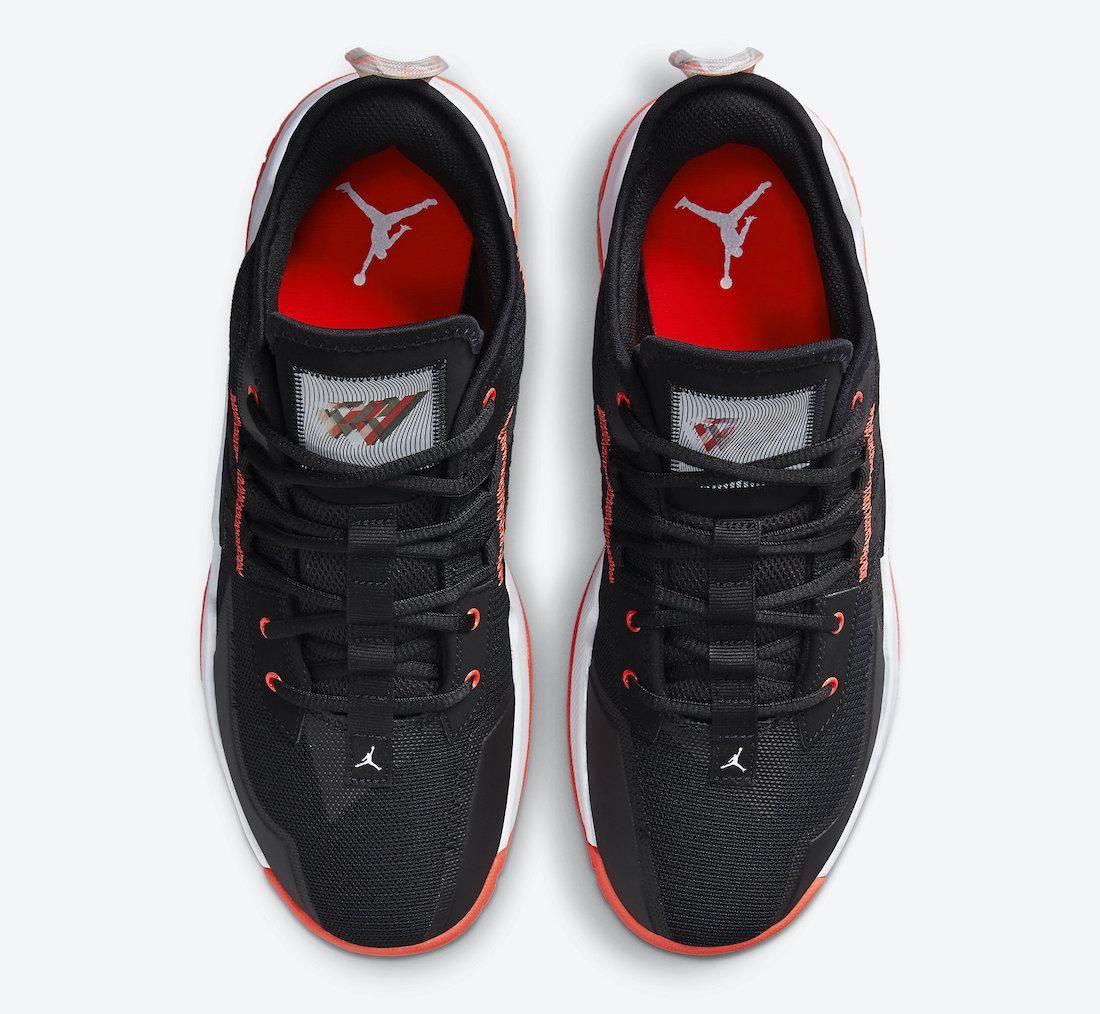 Jordan Westbrook One Take II Black Orange CW2457-006 Release Date Info