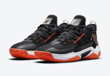 Jordan Westbrook One Take II Black Orange CW2457-006 Release Date Info