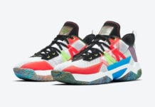 Jordan Westbrook One Take II Multi-Color CW2458-101 Release Date Info