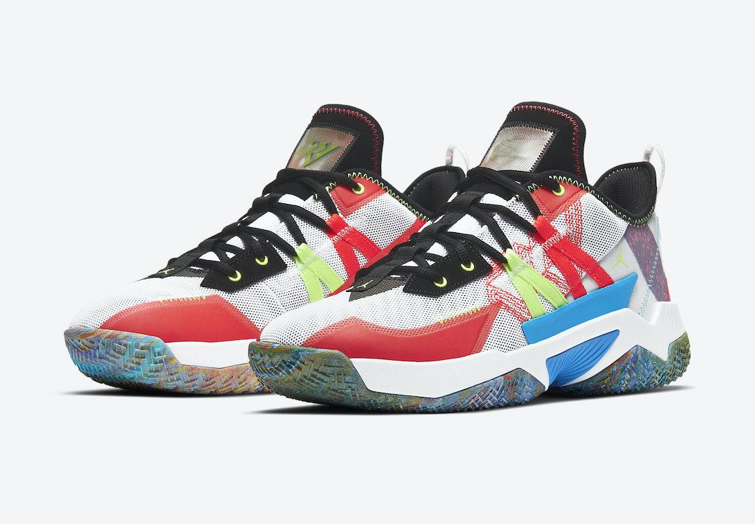 Jordan Westbrook One Take II Multi-Color CW2458-101 Release Date Info