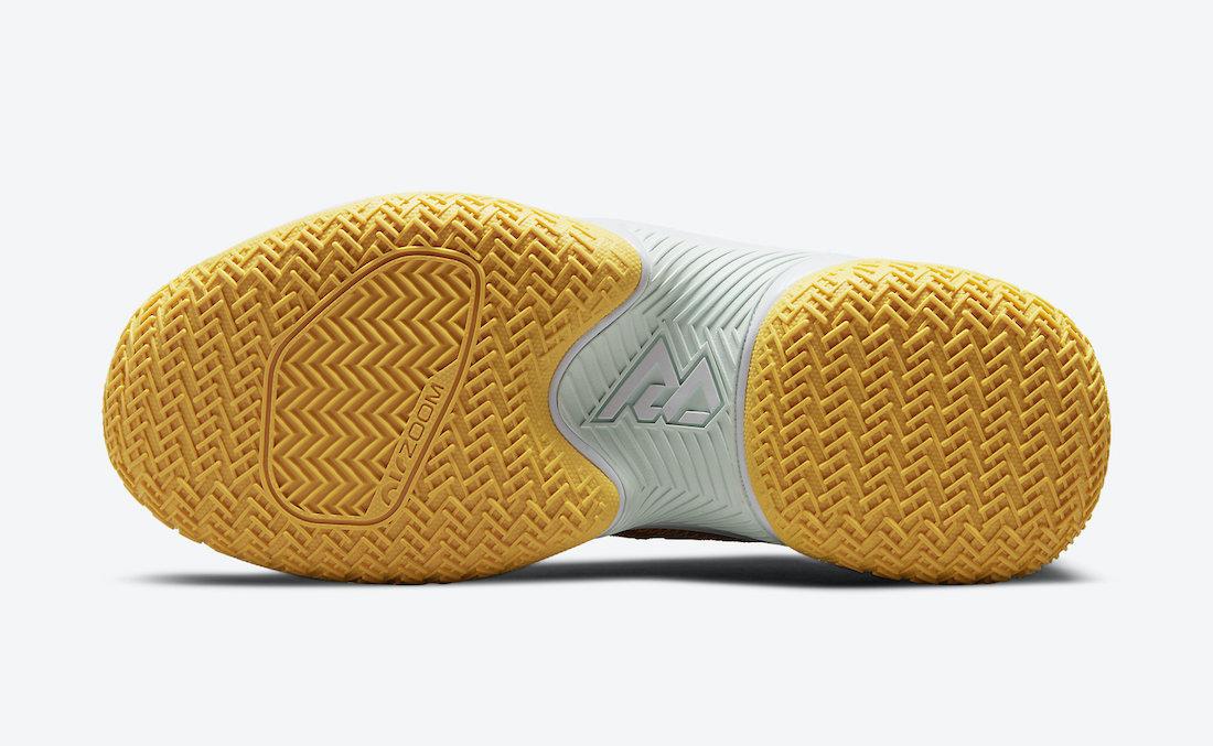 Jordan Westbrook One Take II Teal Orange Yellow CW2457-300 Release Date Info
