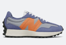 New Balance 327 Magnetic Blue Varsity Orange Release Date Info