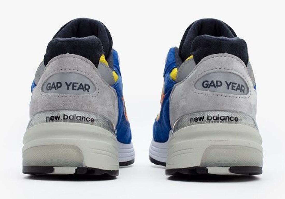 New Balance 992 Gap Year Release Date Info