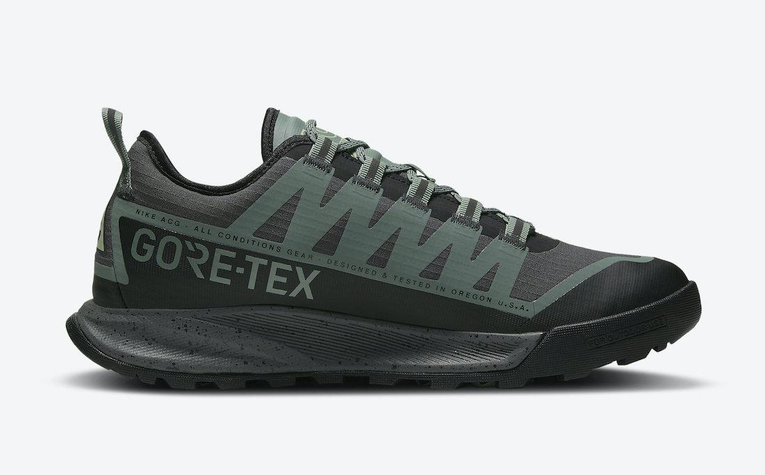 Nike ACG Air Nasu GORE-TEX Clay Green CW6020-300 Release Date Info