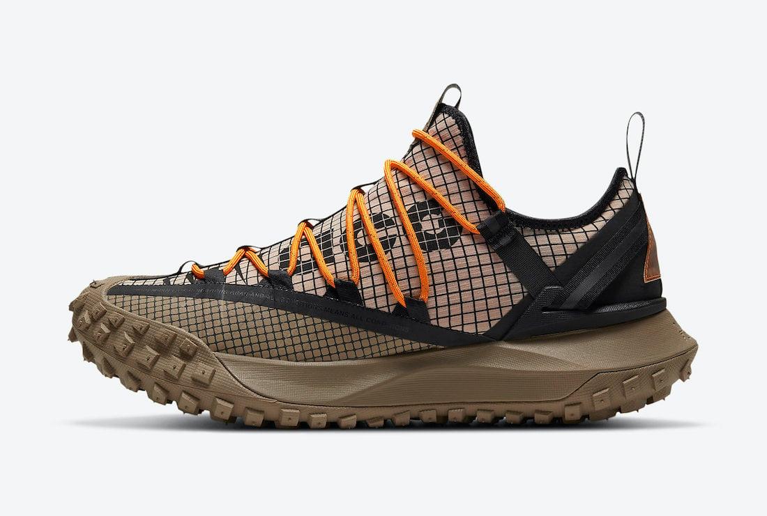 Nike ACG Mountain Fly Low Fossil DA5424-200 Release Date Info