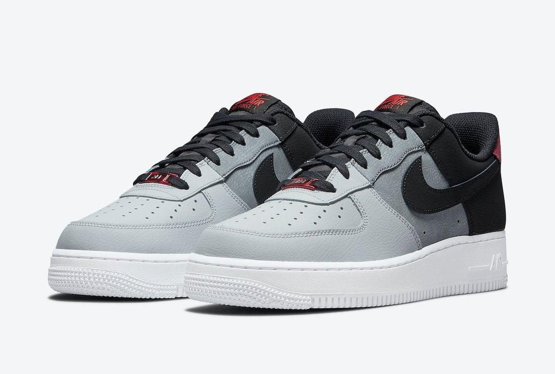 Nike Air Force 1 07 LV8 Black Smoke Grey CZ0337-001 Release Date Info
