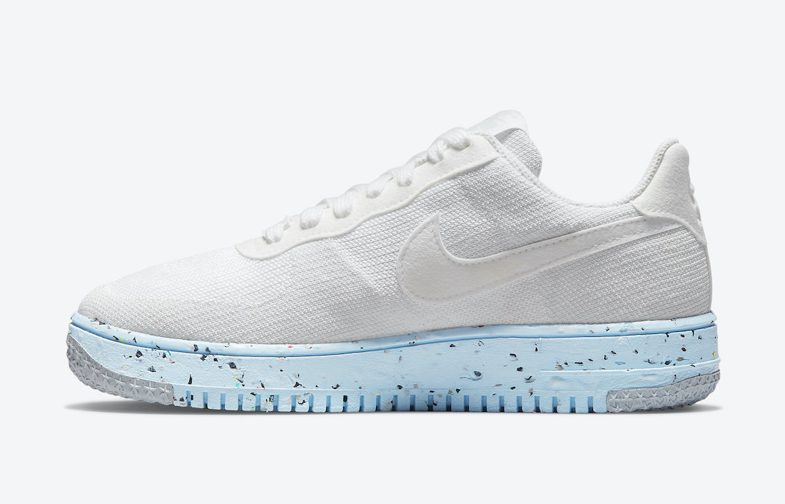 Nike Air Force 1 Crater Flyknit White DC7273-100 Release Date Info