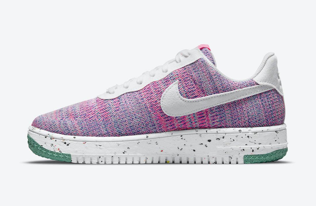 Nike Air Force 1 Flyknit 2.0 Pink Purple DC7273-500 Release Date Info