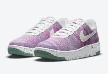 Nike Air Force 1 Flyknit 2.0 Pink Purple DC7273-500 Release Date Info